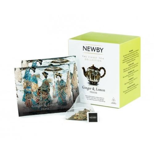 Herbata Newby Ginger & Lemon piramidy 15 sztuk