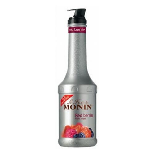 PUREE MONIN-CZERWONE OWOCE 1L