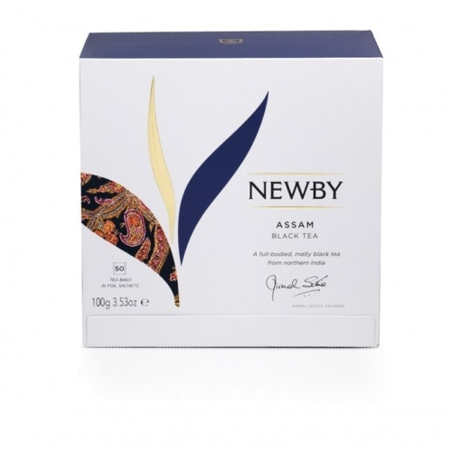Herbata Newby Assam saszetki 50 sztuk.